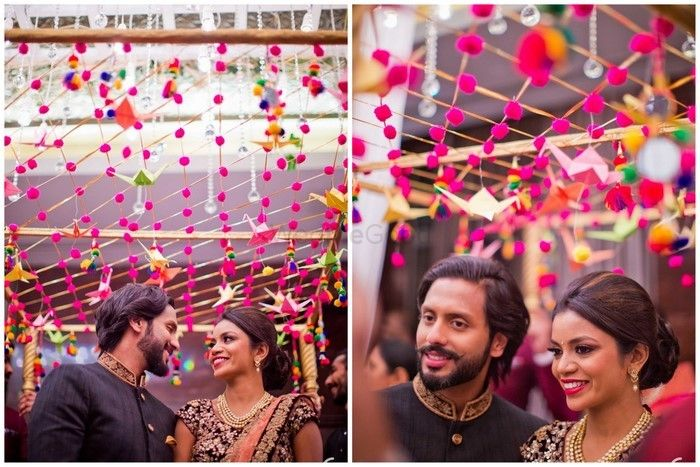 "#BridalEntry: 14 Creative Ways To Do ""Phoolon Ka Chaddar"" Differently!"