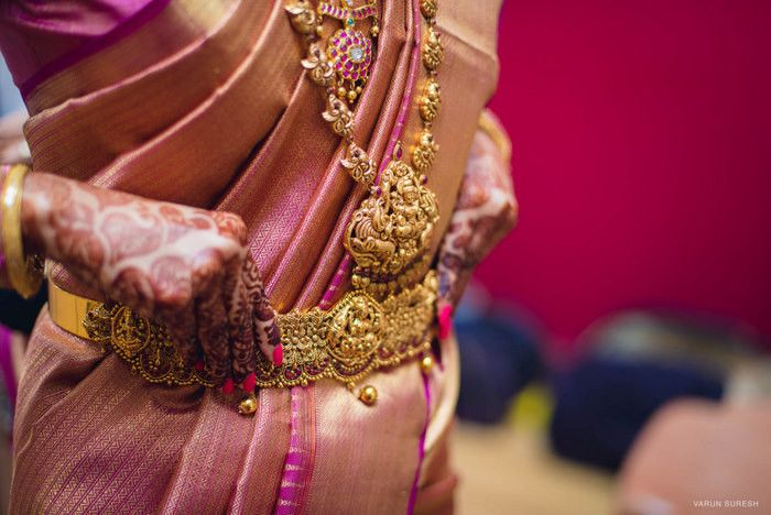 Simple & Sweet Chennai Wedding With Pretty Temple Jewellery!