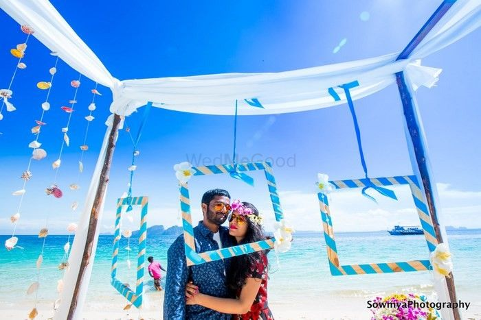 Colourful Telugu Wedding in Krabi With Cute Decor Details!