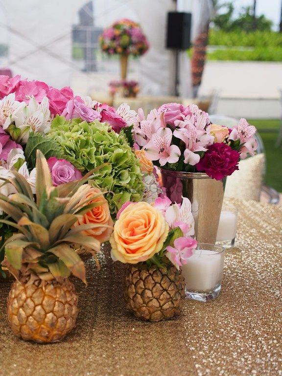 #Trending: Pineapples Are Taking Over Our Wedding Decor And They Are Gorg!