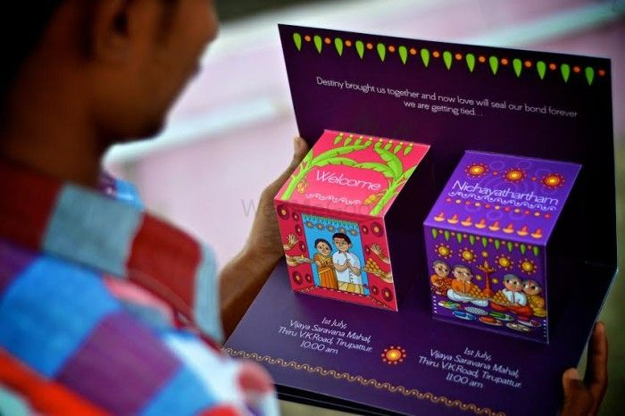 Wedmegood best indian wedding blog for planning ideas stunning wedding cards that cost under rs 200 stopboris Images