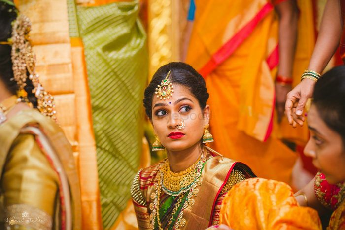 8 New Interesting Blouse Trends For The Quintessential South Indian Bride