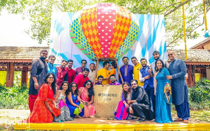 Funky Goa Wedding With A Ton Of Awesome Ideas