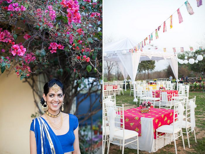 Flashback Friday: This Photographers Boho Wedding in Chandigarh
