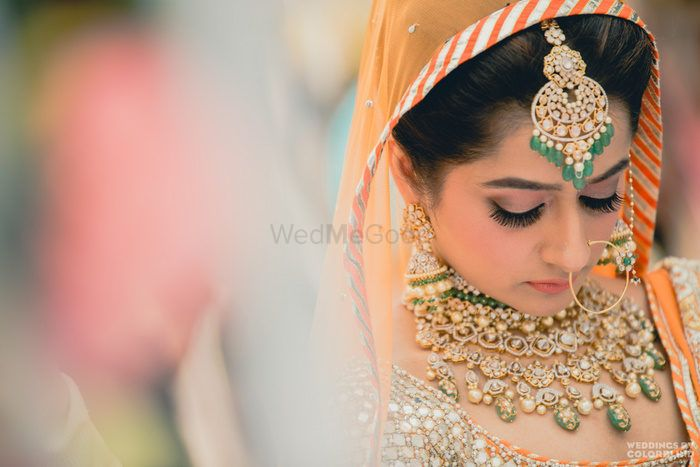Stunning Saffron Hued Wedding in Delhi With Gorge Outfits !