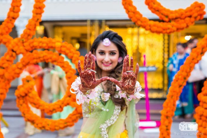 "#FirstPerson: ""5 #NextLevel Cool Ideas I Implemented For My Sundowner Mehendi!"""