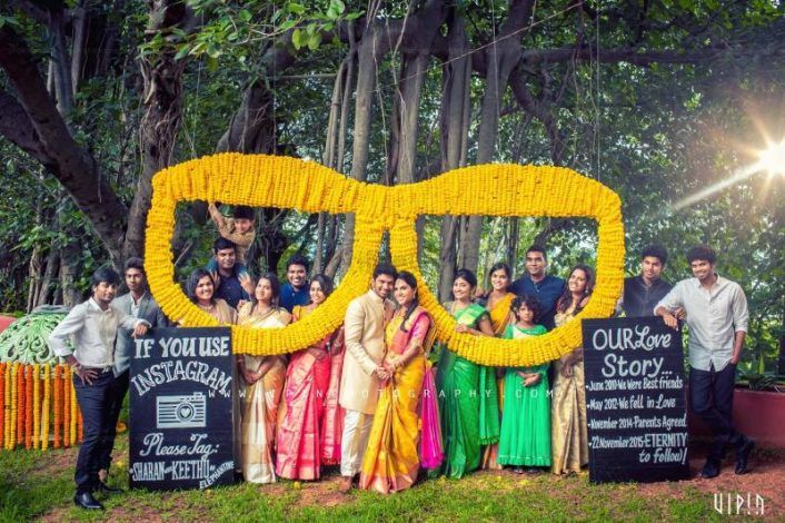 Wedmegood best indian wedding blog for planning ideas the most fun backdrops for the craziest photos junglespirit Gallery