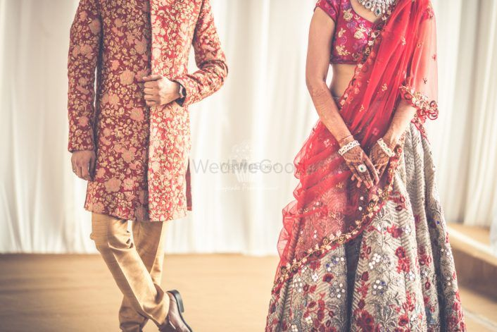 How To Add Your Love Story On Your Lehenga!