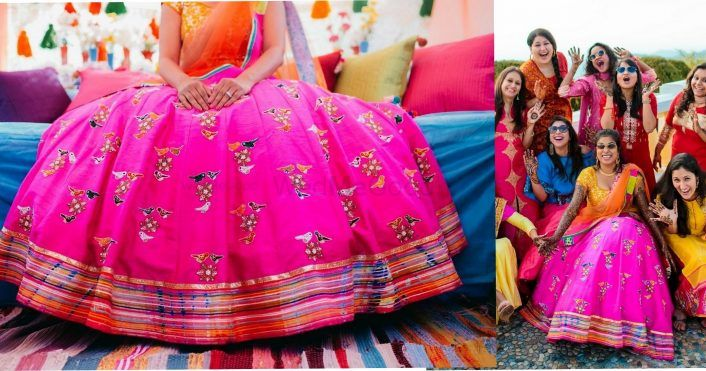 Fresh, Hilly Wedding With A Quirky Mehendi!