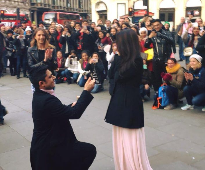 This Indian Flash Mob Proposal Is The Sweetest Thing You'll See Today! #ProposalGoals