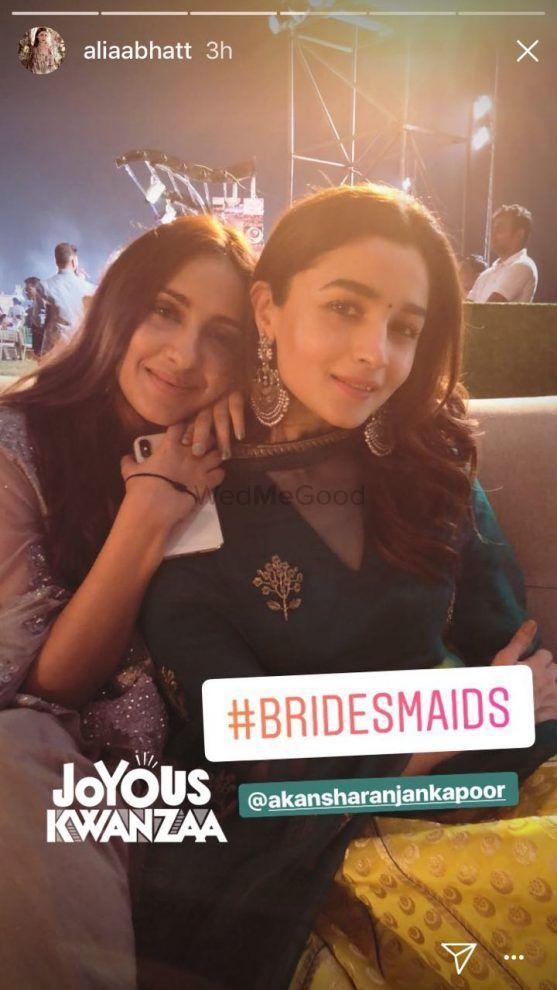 Alia Bhatt's Bestie Got Married : We Got The Pictures !