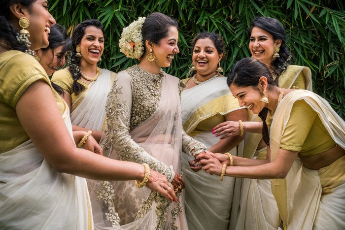The Best Real Brides Who Rocked A Saree On Their Wedding!