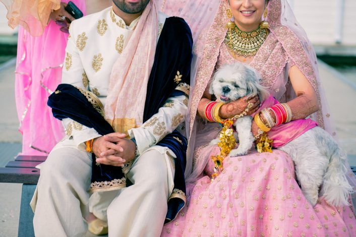 Multi-Cultural Two-States Pastel Wedding With Lots Of DIY Ideas!