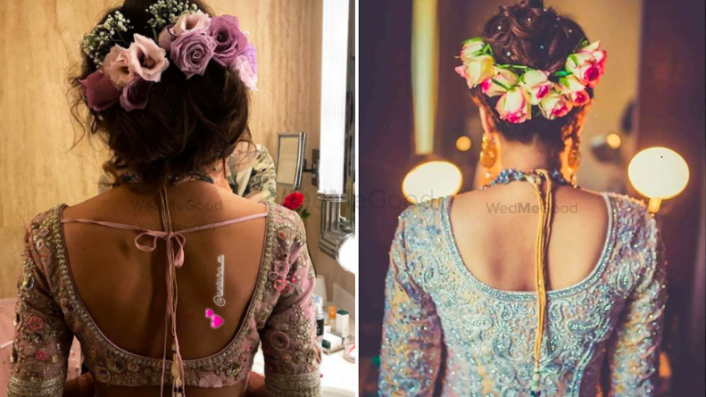 Trending Floral Hairstyles On Instagram For Your Mehendi! #Bookmark
