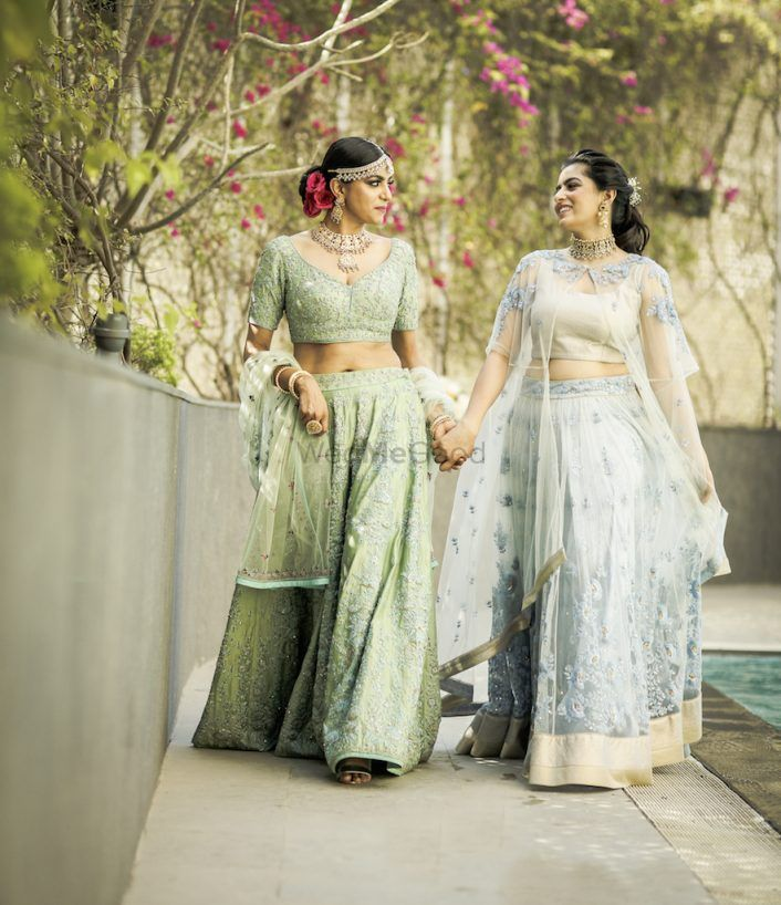Red Carpet Bride At Ritu Kumar: A Dream Shoot For a Bride-to-be & Her BFFs!