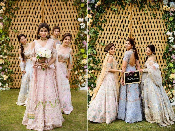 One Bride Had The Prettiest Pastel Shoot With Her Bridesmaids
