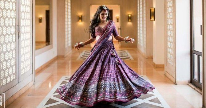 Beautiful Jaipur Wedding With An Aubergine Lehenga We Love