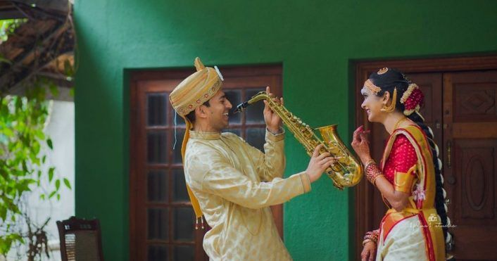 Stunning South Indian Wedding From Bangalore With A Mesmerising Bride!