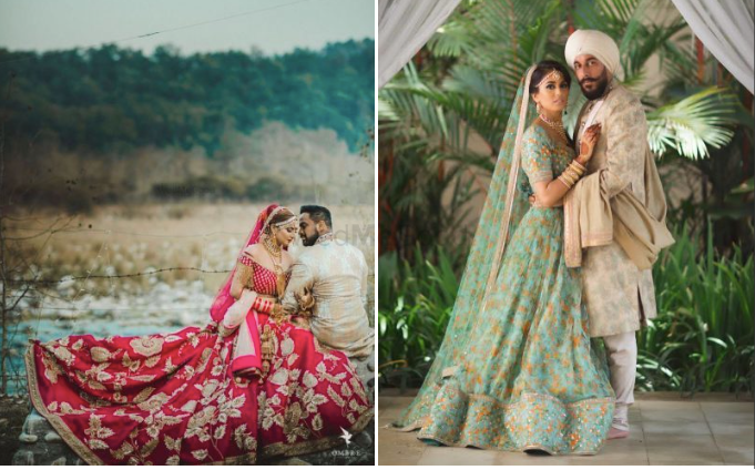 50+ Of The Most Beautiful Bridal Lehengas We Spotted On Real Brides!