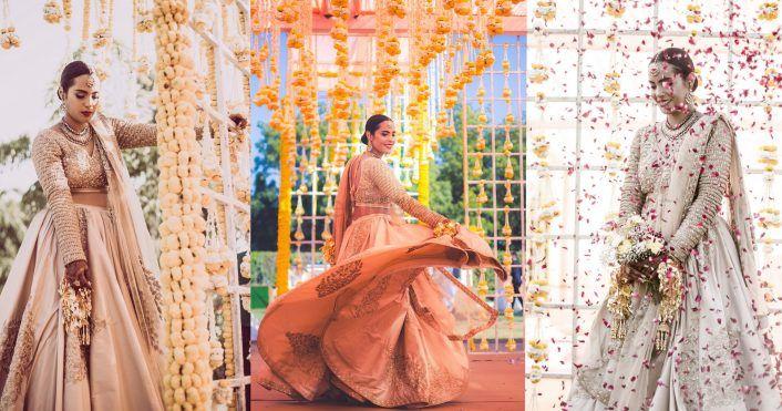 Stunning Delhi Wedding In A Minimalist Setting!