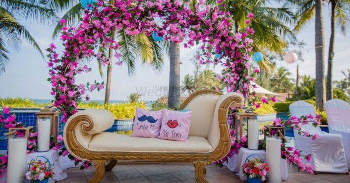 Super Cute Ideas We Loved In This Mykonos-Themed Mehendi!