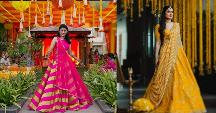 What Are South Brides Wearing For Their Mehendi? #Labels&Styles