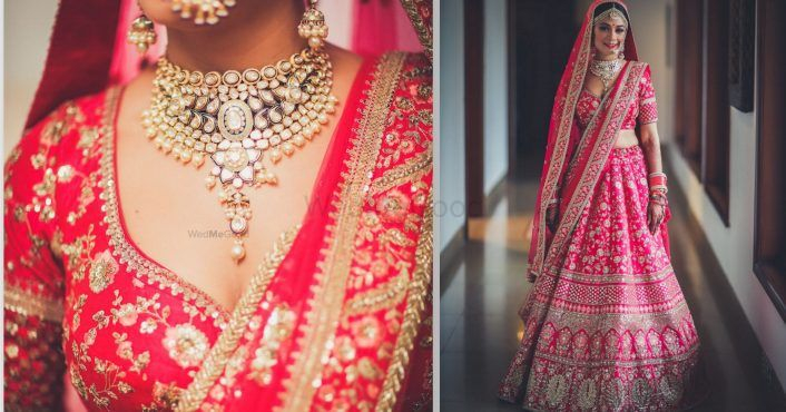 Gorgeous Delhi Wedding With Unique Outfits & Interesting Themes!