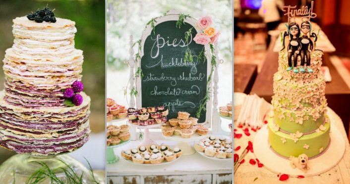 6 New Dessert Trends For Your 2018 Wedding!