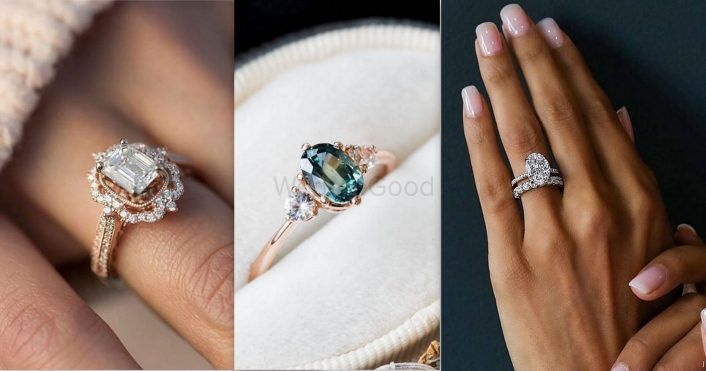 12 Pretty & Popular Engagement Rings We Spotted On Instagram!