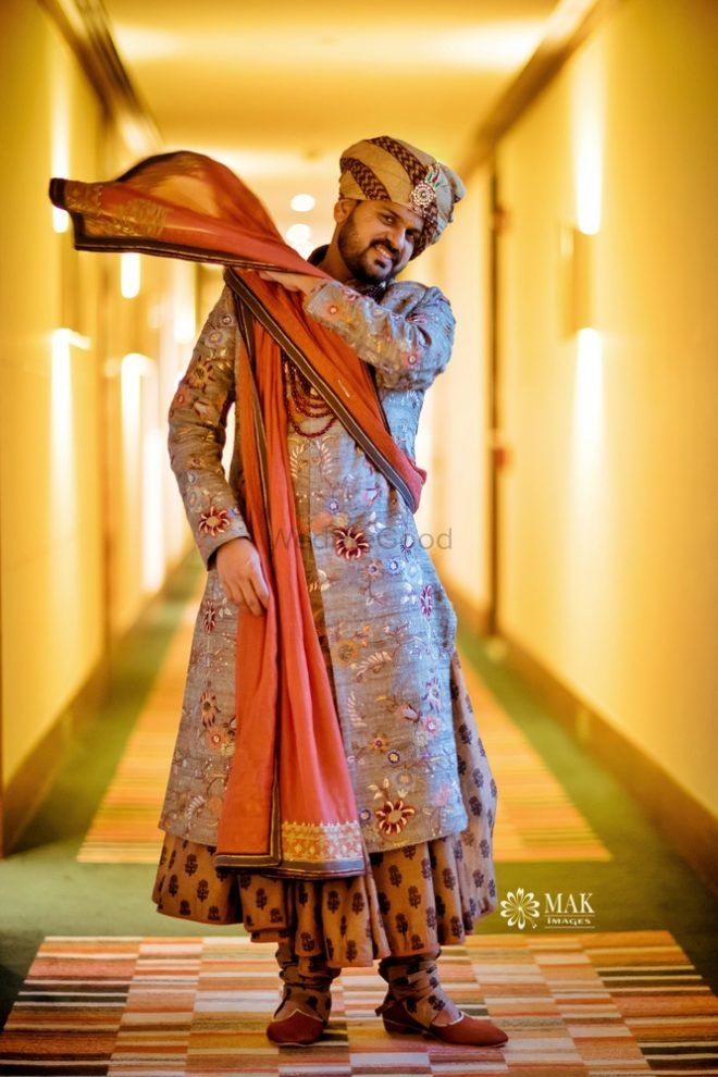This Groom Wore A Padmaavat-Inspired Outfit For His Wedding!