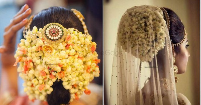 We Are Literally Drooling Over These 20 Different Ways To Wear A Gajra For Your Wedding!