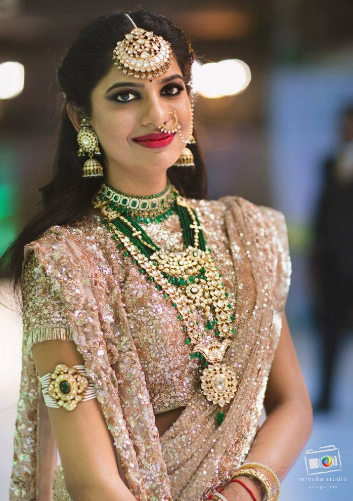 The Prettiest Haars We Spotted On South Indian Brides!