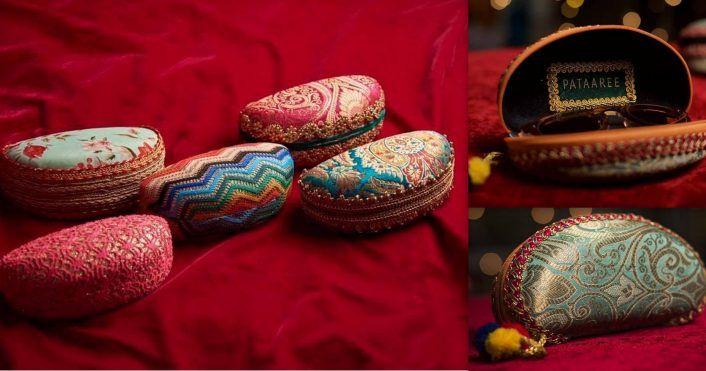 Hidden Gem: Gorgeous Sunglasses Cases With Indian Patterns For Unique Mehendi Favors!