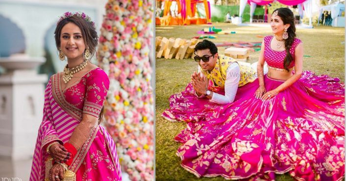 Pink is Precious: The Best Fuchsia Lehengas We've Ever Seen On WMG Brides!