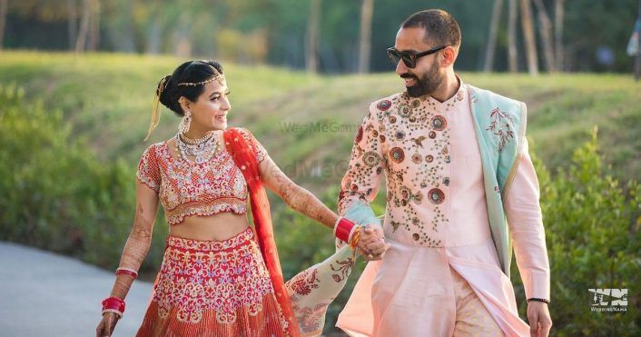 Grooms Who Rocked The Most Amazing Pastel Sherwanis!