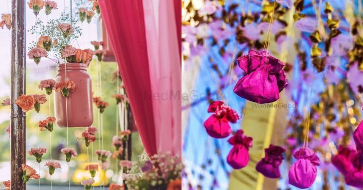 Dhols To Tambourines, 20+ Unique & Beautiful Mehendi Decor Ideas We Spotted!