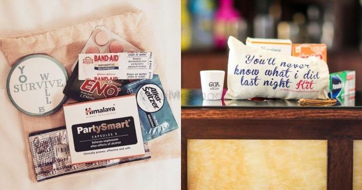 We Spotted These Hangover Kits Under Rs. 1500, That Are Super Useful For Your Wedding!
