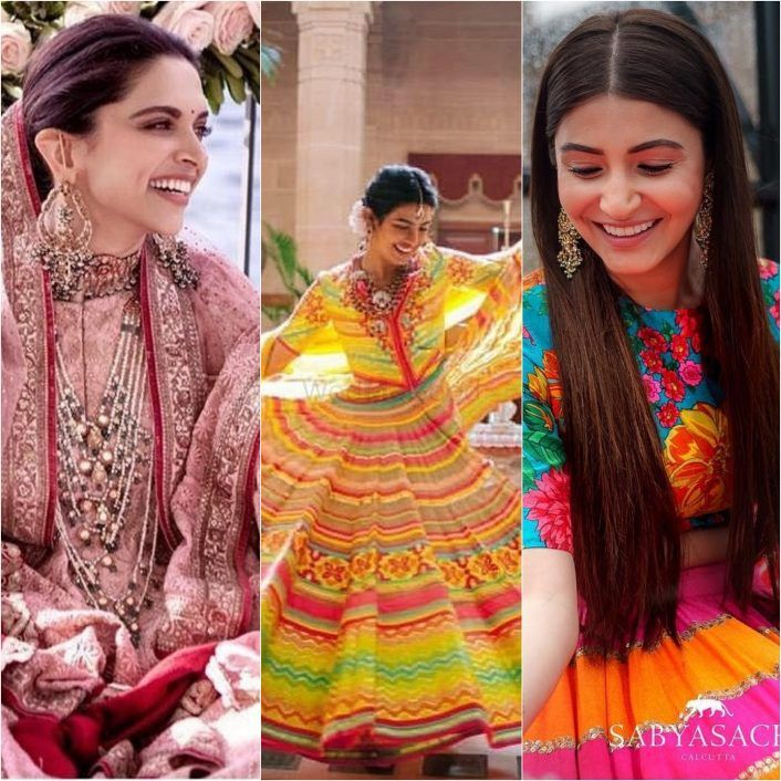 Decoding Bollywood Brides Mehendi Looks: From Colour-Burst, To Cool Blue And The Blushing Pink!