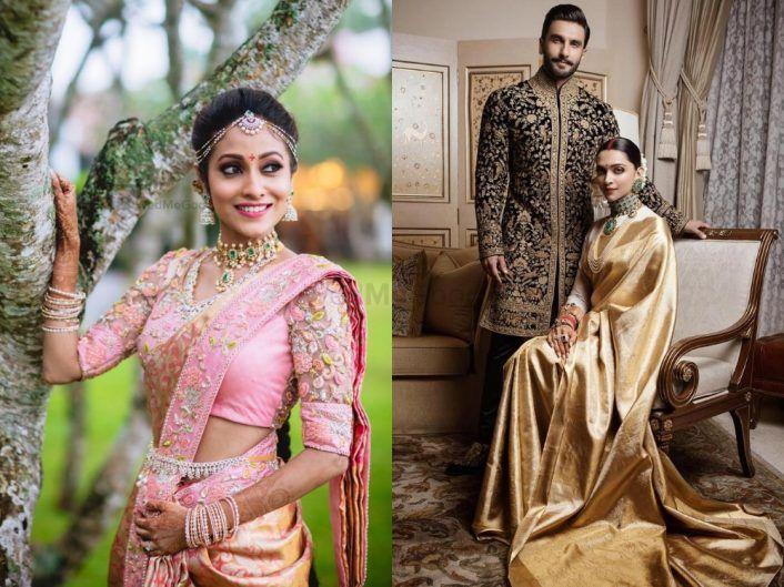 5 Designer Labels For A Customised Bridal Kanjivaram Saree In Bangalore! *Including Deepika's Pick!