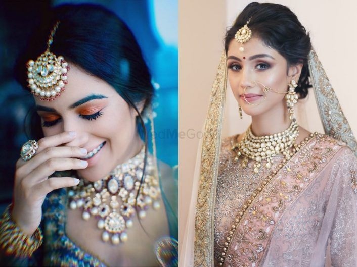 #Trending: Coloured Smokey Eye Makeup On Brides!