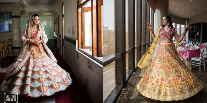 A Delhi Wedding With Our Bride In A Custom Lehenga!