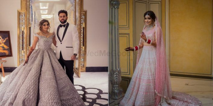 A Glamorous Jaipur Wedding And A Bride In The Most Unique Bridal Lehenga!