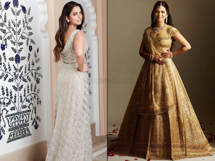 Here's What (& Who) Isha Ambani Wore At Each Of Her Wedding Functions!