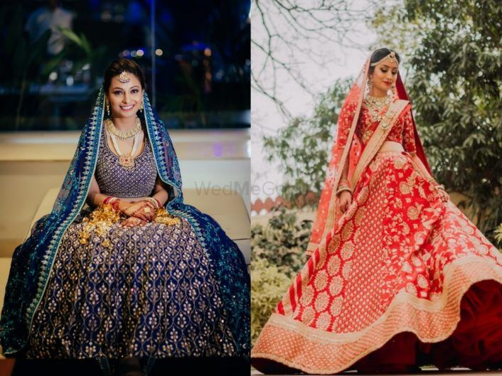 20 Brides Who Wore The Prettiest Lehengas in 2018: WMG Roundup!