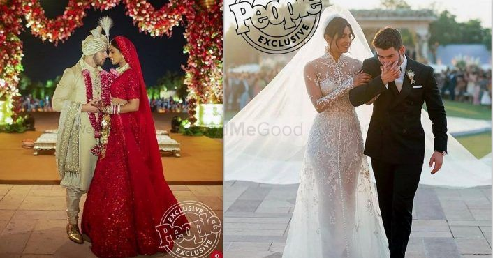 You Cannot Miss The First Pictures From Priyanka & Nick's Wedding Cu'z They're GORGEOUS!