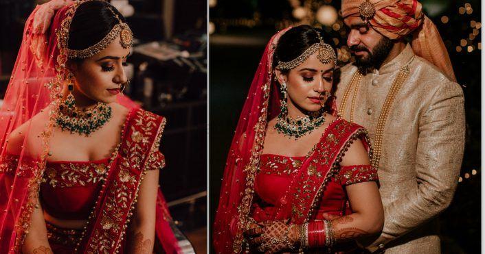 An Elegant Delhi Wedding With A Bride In A Killer Blouse