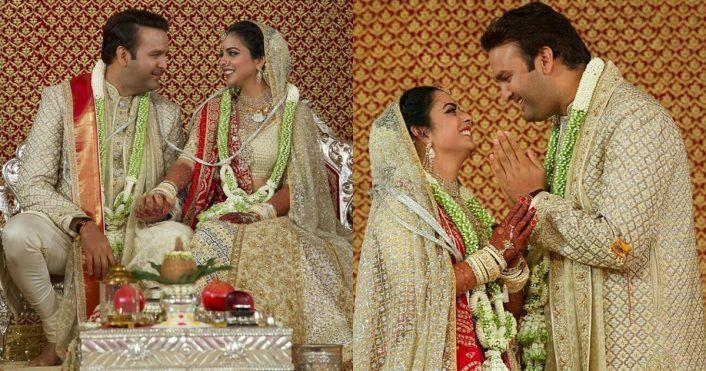 Totally Unique & Pretty 21 Jaimalas We Spotted At WMG Real Weddings! (*Including #nickyanka & #deepveer)