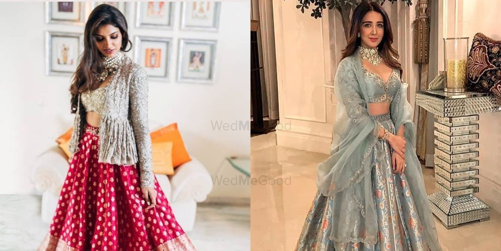 The Most Unique & Fabulous Banarasi Lehengas we Spotted!