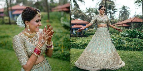A Fun Goa Wedding With Sunset Hues And A Kickass Bridal Entry