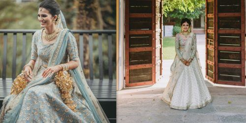 Real Brides Who Wore (& Rocked) Minimalist Lehengas On Their Big Day!